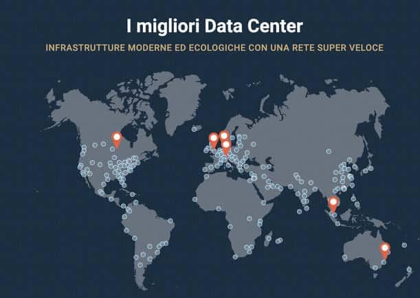 data center recensione siteground