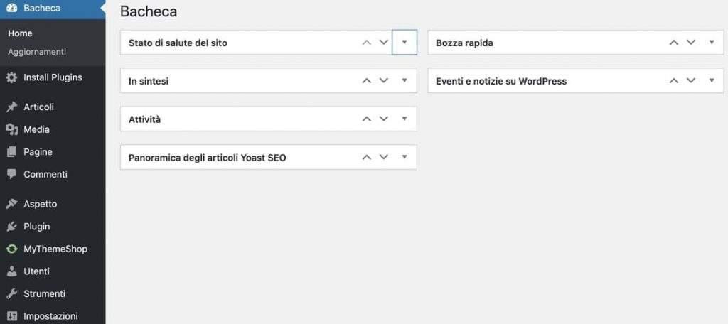 come utilizzare wordpress