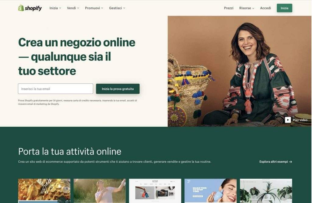 home shopify