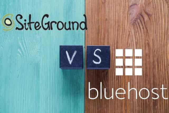 meglio siteground bluehost