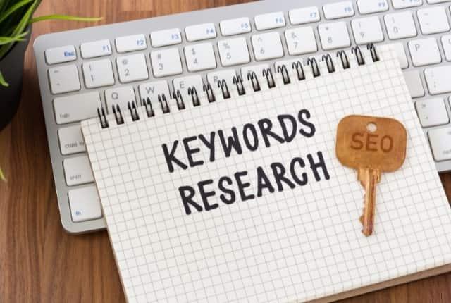 come essere in prima pagina su google keyword